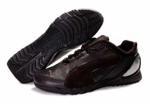 chaussure puma en toile femme