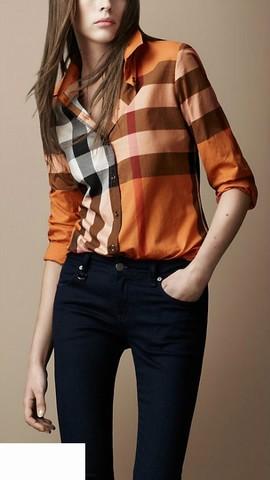 Chemises Burberry Femme,Chemises Burberry fr,Les Vetements Femme neuve c49b76a56ff