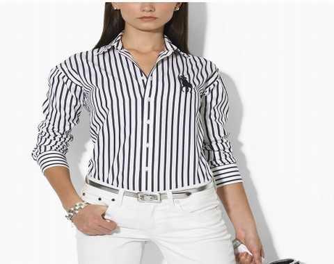 Femme chemises Lauren Modele les Chemises Ralph PzHRx4
