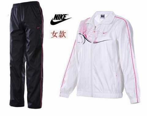 Jogging Nike Femme. ensemble survetement en coton 0d6fd5075d0