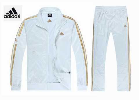 survetement adidas femme blanc et argent 151051fc8dc