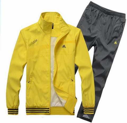 ensemble adidas femme jaune